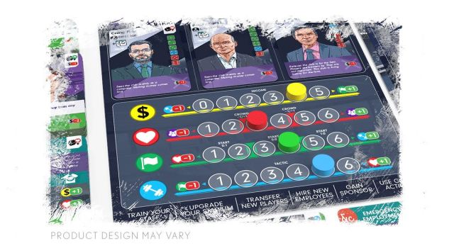 Eleven: football manager board game - plancetta