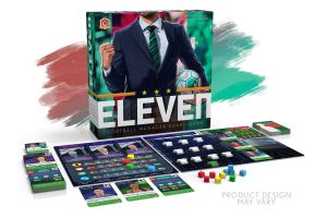Arriva Eleven: football manager board game
