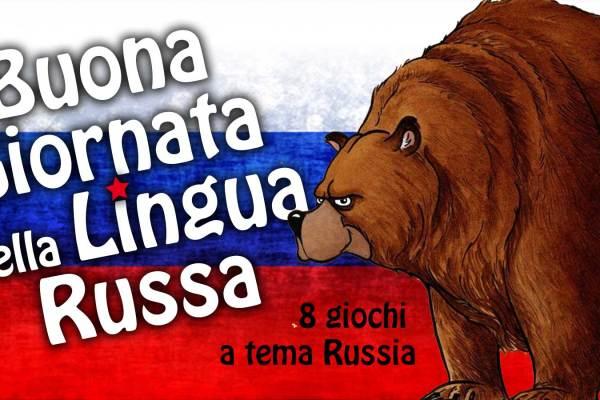 8 giochi a tema in occasione della Giornata della lingua russa