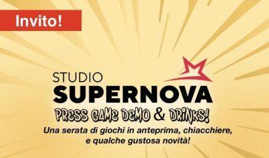 Invito Studio Supernova Press Game Demo & Drinks The Green Player