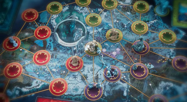 PANDEMIC WORLD OF WARCRAFT Wrath of the Lich King board boardgame the green player