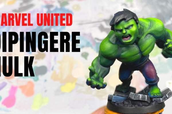 Kiki's Miniatures Mania – Come dipingere Hulk da Marvel United