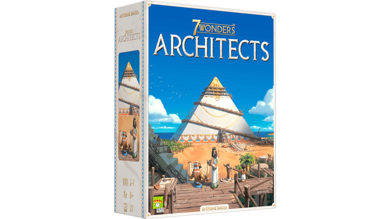7 Wonders Architects – Cosa cambia rispetto a 7 Wonders