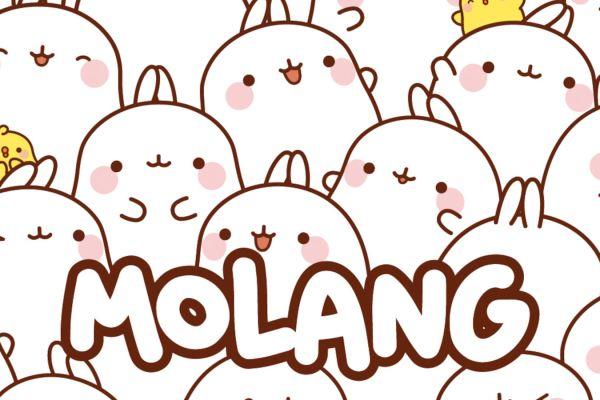 Il coniglio Molang arriverà sui tavoli delle vostre case