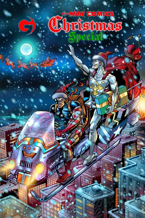 G-Man Comics Christmas Special # 1 - Pontik® Radio