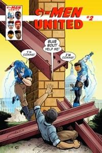 G-Man Comics United # 2 variante - Pontik® Radio