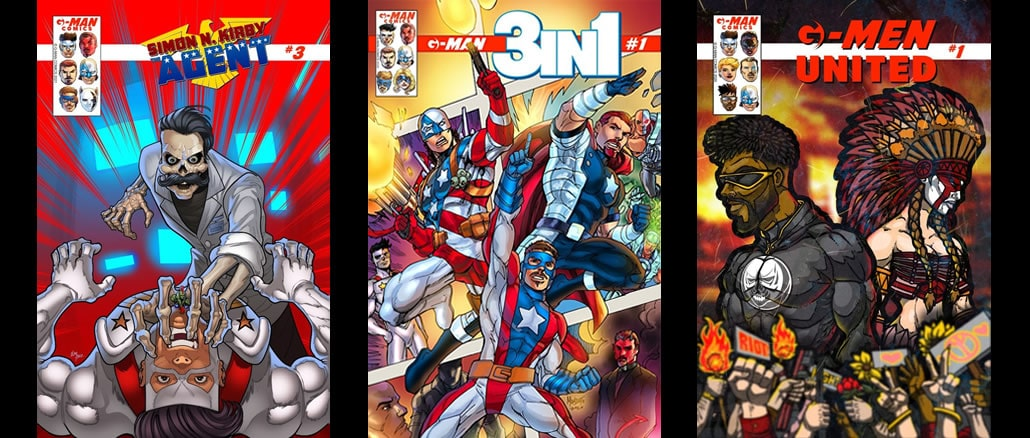 G-Man Comics - Pontik Mundo y Cultura Geek