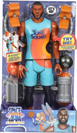 LeBron James Ultimate Tune Squad Action Figure