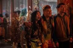 Katy (Awkwafina), Jon Jon (Ronny Chieng) and Shang-Chi (Simu Liu)