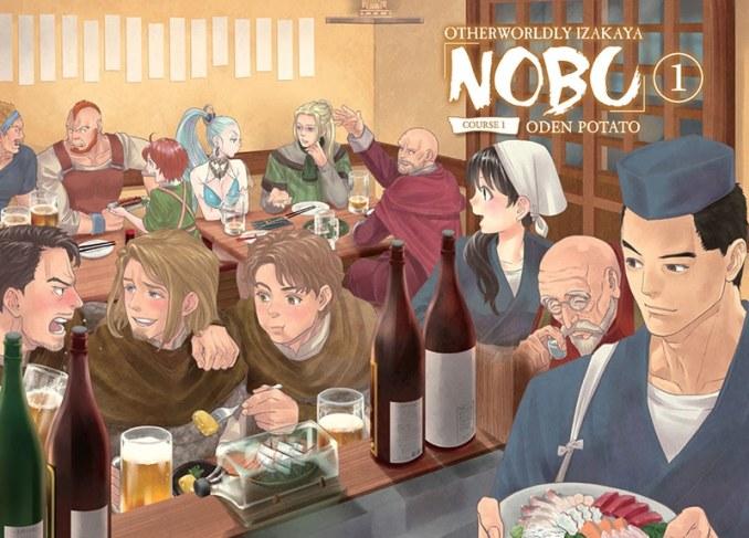 serie Great Manga - Otherworldly Izakaya Nobu - Pontik Geek
