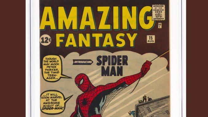 """Amazing Fantasy #15"" (Marvel, 1962) - Pontik® Geek - Comics"