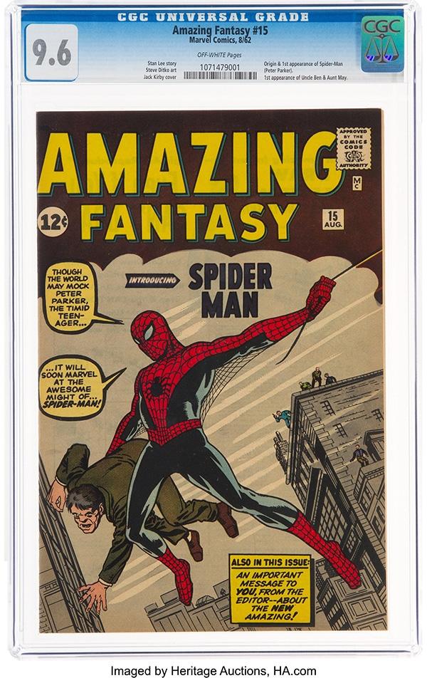 """Amazing Fantasy #15"" (Marvel, 1962) - Pontik® Geek"