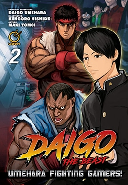 Daigo The Beast Umehara Fighting Gamers Vol 2 - UDON- Pontik® Geek