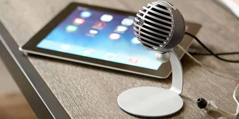 Shure MV5 melhor microfone usb portatil