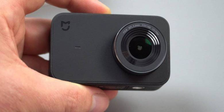 Câmera de Ação Mais Básica