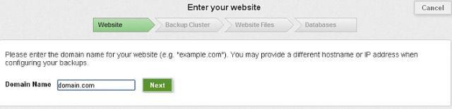 Comcure Add Site Geekact