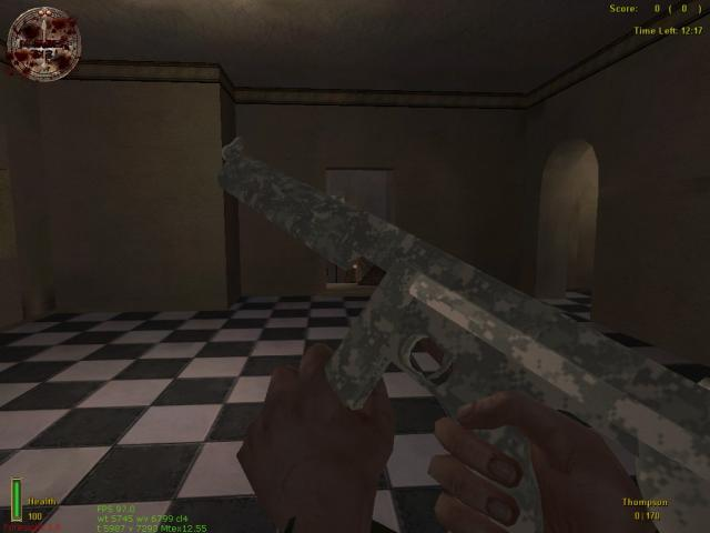 Fixing MOHAA Weapon Texture Issue