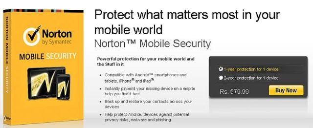 Norton Mobile Security Free 1 year GeekAct