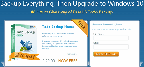 EaseUS Todo Backup Full Version Key