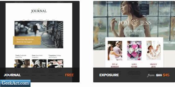 themefuse journal free theme