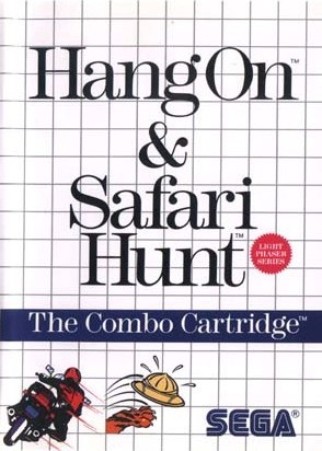 Oh, Master System cover art. Sega sure liked graph paper back in the 80's.