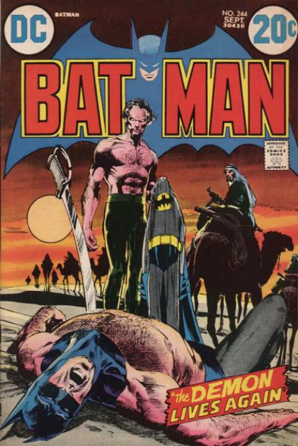 It's the issue where they stabbed and killed Batman. Wait, what?