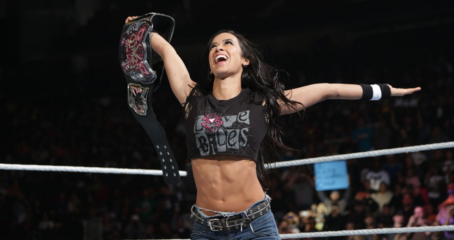 Greatest Women's Champion of all time? Yes, yes she was.