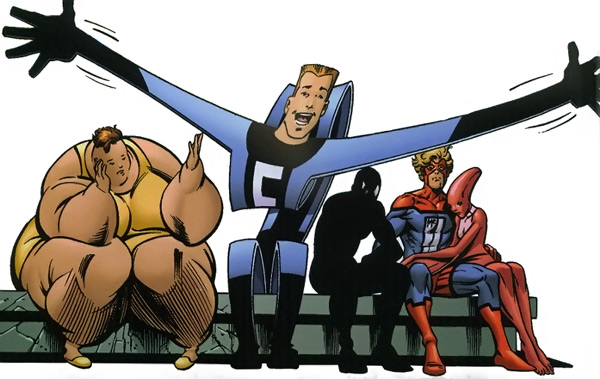 The Great Lakes Avengers. They try, too.