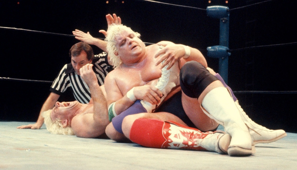 His matches with Ric Flair are the stuff of legend