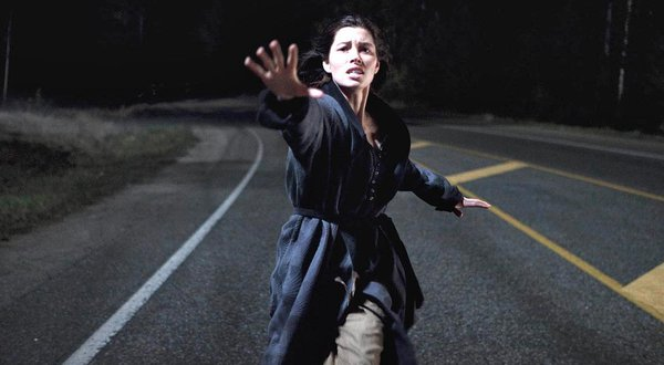 Jessica Biel running after her kidnapped son