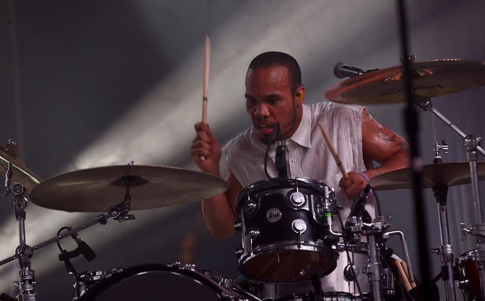 Rapper, singer, producer,...drummer?