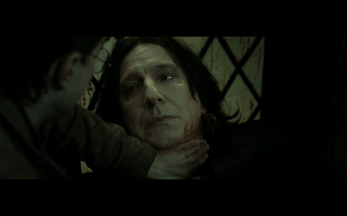 I still miss Alan Rickman. Snape, not so much.