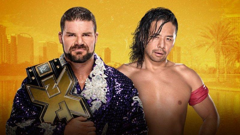 Bobby Roode vs Shinsuke Nakamura