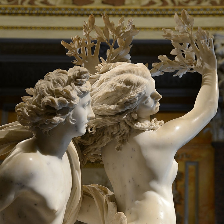To get rid of Apollo, Daphne had to turn into a laurel tree. Image by Alvesgaspar