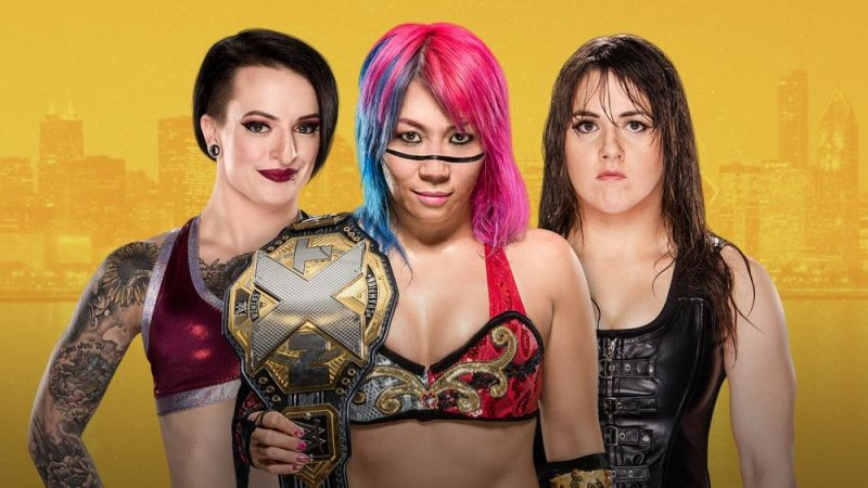 Ruby Riot vs Asuka vs Nikki Cross
