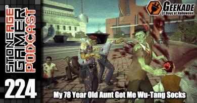 SAG Episode 224: My 78 Year Old Aunt Gave Me Wu-Tang Socks