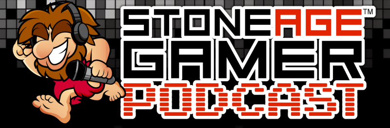 The Stone Age Gamer Podcast logo