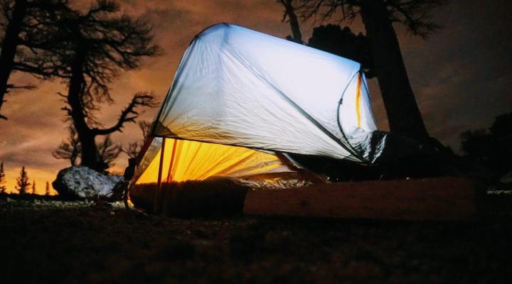 Top 10 things to take camping