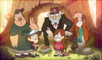 Main_characters_of_Gravity_Falls