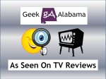 Geek Alabama As Seen On TV Reviews