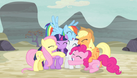 Mane_Six_group_hug_again_S5E02