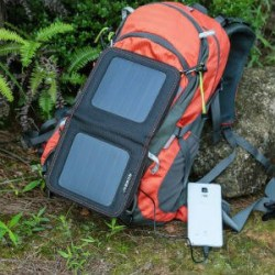 ECEEN 7 Watts Foldable Solar Panel Bag Portable Solar Charger Pack Kits