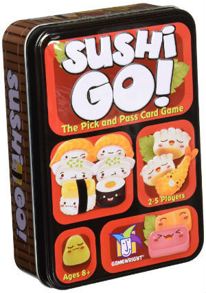 Sushi Go - The Pick and Pass Card Game