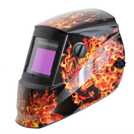 Flaming Lion Solar Powered Auto Darkening Welding Helmet