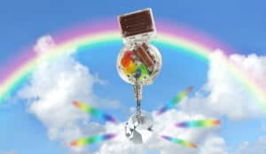 Solar Powered Rainbow Maker