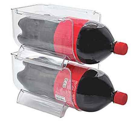 Stackable Bins For 2 Liter Soda Or Large Bottle 3