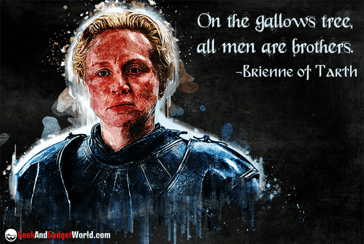 Brienne of Tarth Quote