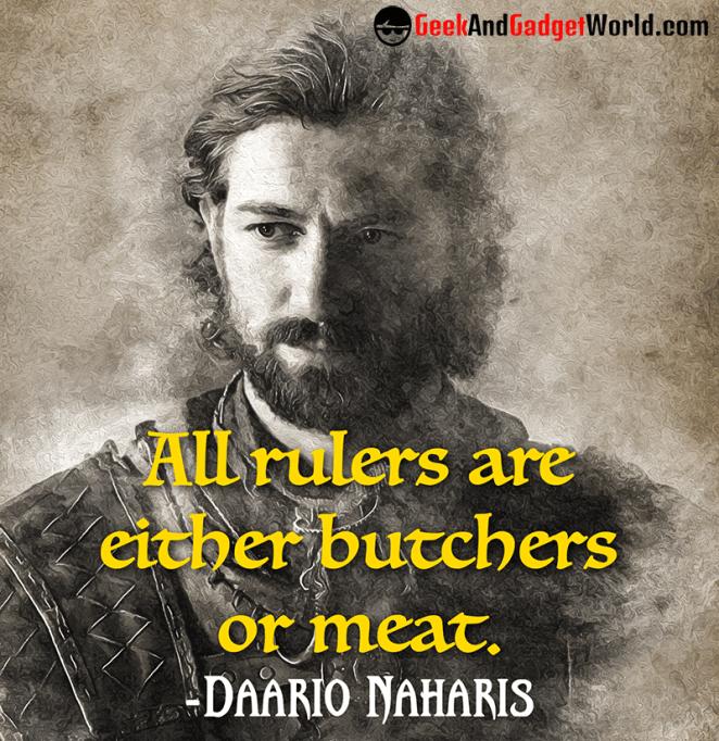 Daario Naharis quote