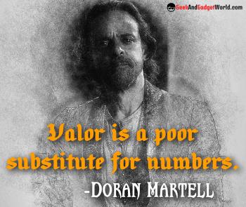 Doran Martell quote