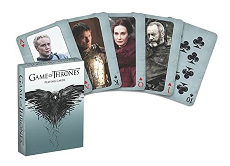 5 Game Of Thrones Playing Cards Second Edition